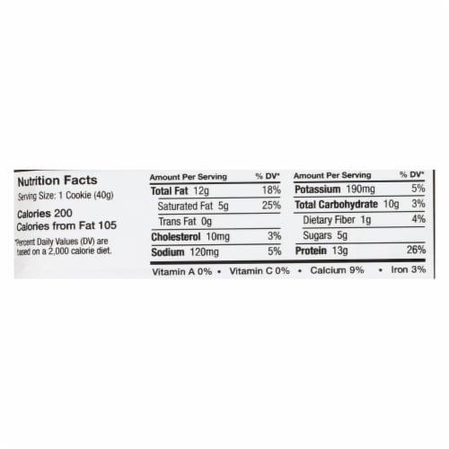 Power Crunch Bar - Peanut Butter Cream - Case of 12 - 1.4 oz Perspective: back