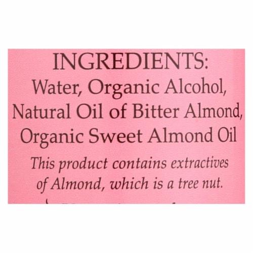 Flavorganics Extract - Organic - Almond - 2 oz - case of 12 Perspective: back