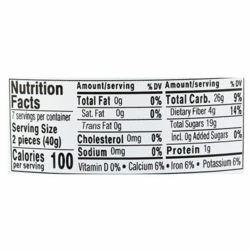 Aurora Natural Products - Organic Turkish Figs - Case of 12 - 10 oz. Perspective: back