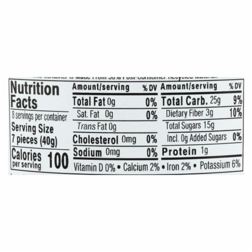 Aurora Natural Products - Organic Prunes - Case of 12 - 11 oz. Perspective: back