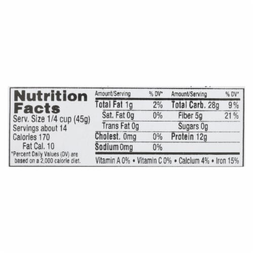 Aurora Natural Products - Organic Green Lentils - Case of 12 - 22 oz. Perspective: back
