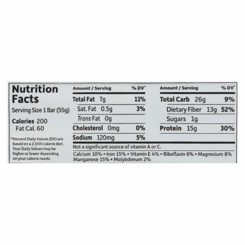 Garden Of Life - Fit High Protein Bar Sea Salt Caramel - Case of 12 - 1.9 OZ Perspective: back