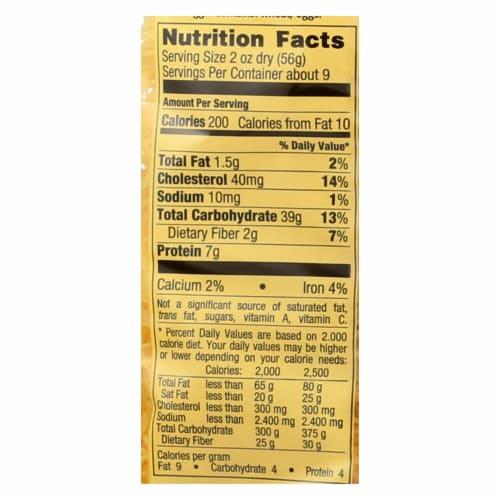 Bechtle Noodles - Fine - Case of 12 - 17.6 oz Perspective: back