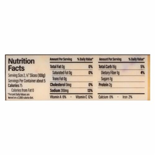 Food Merchants Organic Polenta - Sun Dried Tomato Garlic - Case of 12 - 18 oz. Perspective: back
