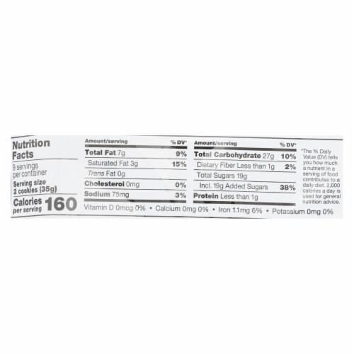 Glutino - Cookie Stuffed Vanilla Cream - Case of 12 - 11.1 OZ Perspective: back