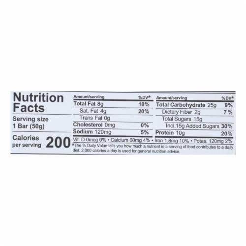 Nugo Nutrition Bar - Nugo Dark - Chocolate Coconut - 1.76 oz - 1 Case Perspective: back