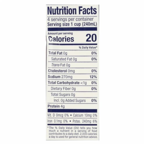 More Than Gourmet - Beef Stock - Case of 12 - 32 OZ Perspective: back