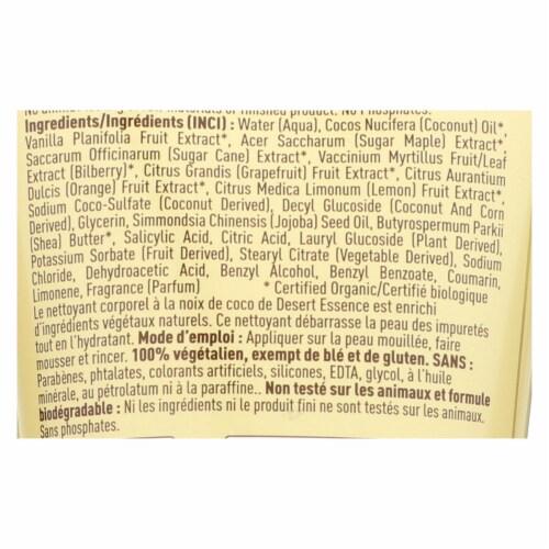 Desert Essence - Body Wash - Coconut - Travel Size - 1.5 fl oz - 1 Case Perspective: back
