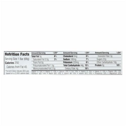 Clif Bar - Organic Blueberry Crisp - Case of 12 - 2.4 oz Perspective: back