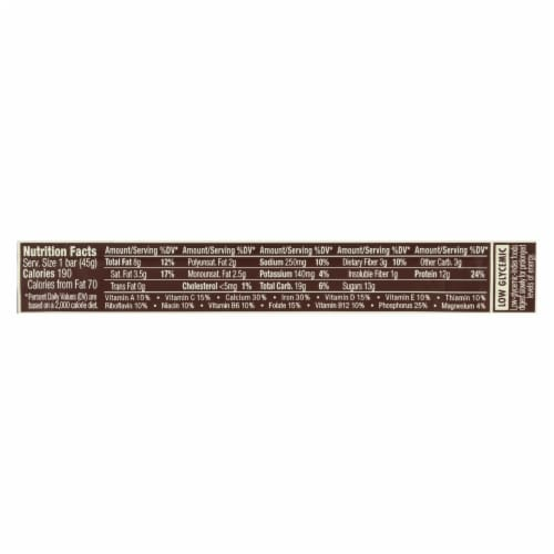 Clif Bar Luna Protein Bar - Chocolate Peanutbutter - Case of 12 - 1.59 oz Perspective: back
