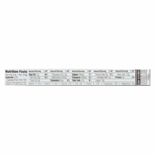 Clif Bar Organic Nut Butter Filled Energy Bar - Peanut Butter - Case of 12 - 1.76 oz. Perspective: back
