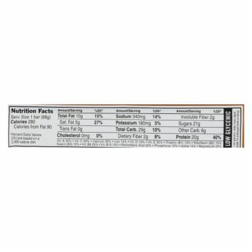 Clif Bar Builder Bar - Chocolate Peanut Butter - Case of 12 - 2.4 oz Perspective: back