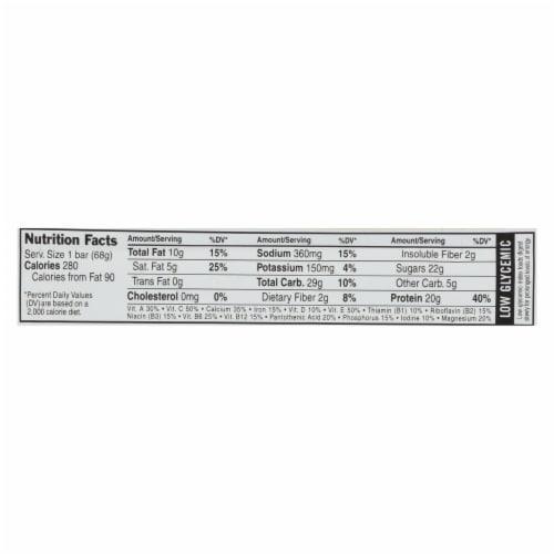 Clif Bar Builder Bar - Crunchy Peanut Butter - Case of 12 - 2.4 oz Perspective: back