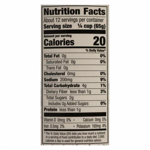Muir Glen Organic Chunky Tomato Sauce - Tomato - Case of 12 - 28 oz. Perspective: back