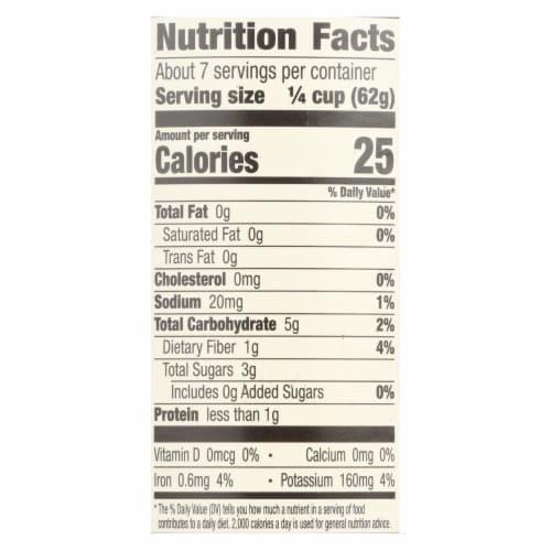 Muir Glen Tomato Sauce No Salt Added - Tomato - Case of 12 - 15 Fl oz. Perspective: back