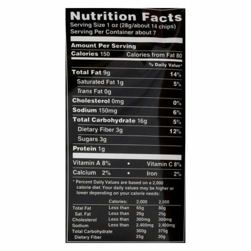 Terra Chips Exotic Vegetable Chips - Mediterranean - Case of 12 - 6.8 oz. Perspective: back