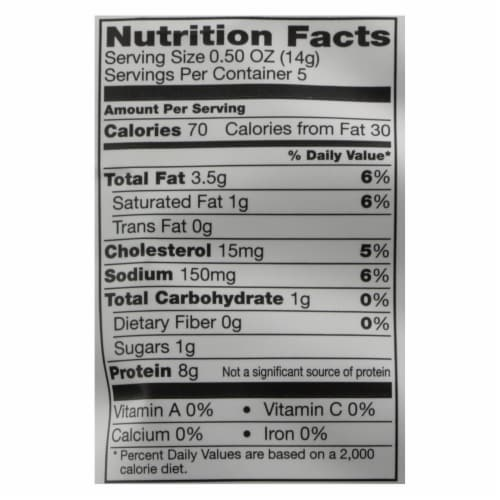 Epic - Pork Rinds Cinnamon Churro - Case of 12 - 2.5 OZ Perspective: back