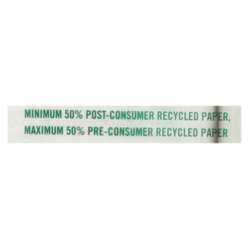 Seventh Generation Bathroom Tissue - Case of 12 - 300 Count Perspective: back