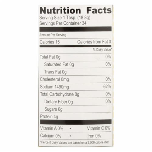 Red Boat Fish Sauce's Primary Ingredient  - Case of 12 - 17 OZ Perspective: back