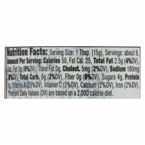 Thai Kitchen Roasted Red Chili Paste - Case of 12 - 4 oz. Perspective: back