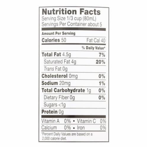 Thai Kitchen Lite Coconut Milk - Case of 12 - 13.66 Fl oz. Perspective: back