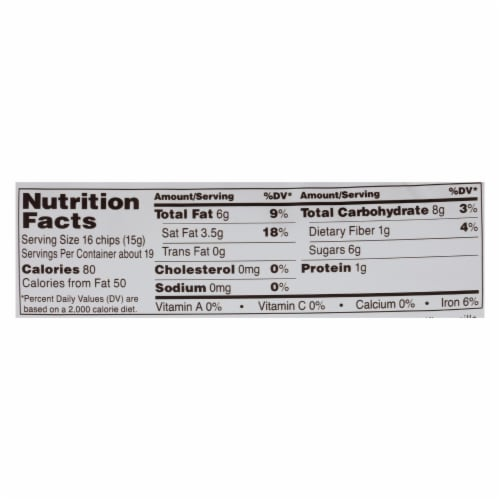 Ghirardelli Cacao Bittersweet - Chocolate Baking Chips - Case of 12 - 10 oz. Perspective: back
