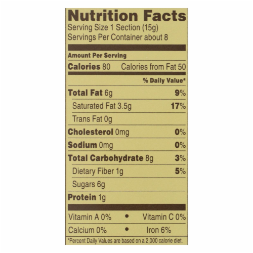 Ghirardelli Premium Baking Bar - 60% Cacao Bittersweet Chocolate - Case of 12 - 4 oz Perspective: back