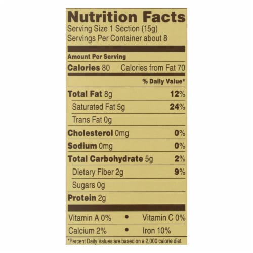 Ghirardelli Premium Baking Bar - 100% Cacao Unsweetened Chocolate - Case of 12 - 4 oz Perspective: back