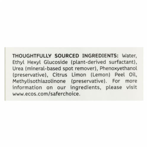 Earth Friendly Wave Jet Rinse Aid - Case of 12 - 8 fl oz Perspective: back
