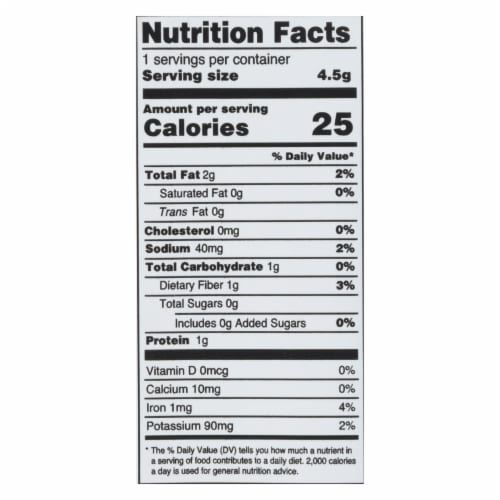 Annie Chun's Seaweed Snack - Sesame - Case of 12 - .16 oz. Perspective: back