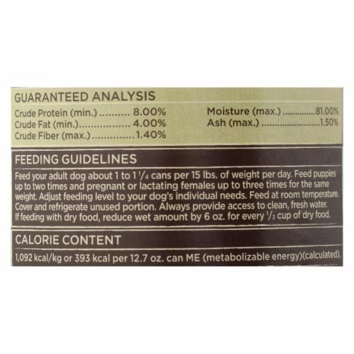 Castor & Pollux Wet Dog Food,Prstine Grain-Free-Range Turkey,Carrot,Apple Stew -12Case-12.7oz Perspective: back