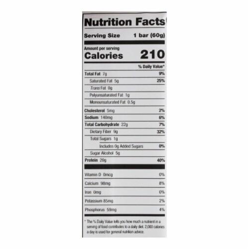 One Brands Lemon Cake Flavored Protein Bar Lemon Cake - Case of 12 - 60 GRM Perspective: back