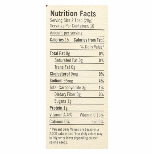 Poblano Farm - Chipotle Salsa - Medium Heat - Case of 12 - 16 oz. Perspective: back