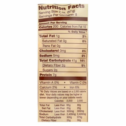 Bionaturae Pasta - Organic Durum Semolina Rigatoni - Case of 12 - 16 oz. Perspective: back