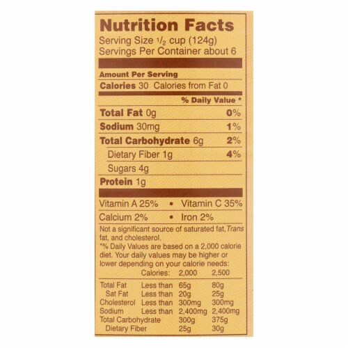 Bionaturae Organic Whole Peeled Tomatoes - Case of 12 - 28.2 oz. Perspective: back