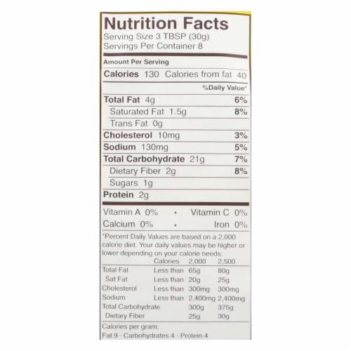 Schar Bread Crumbs Gluten Free - Case of 12 - 8.8 oz. Perspective: back