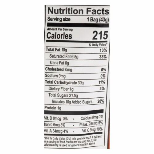 Natierra Organic Chocolate Mango Slices - Case of 12 - 1.5 OZ Perspective: back