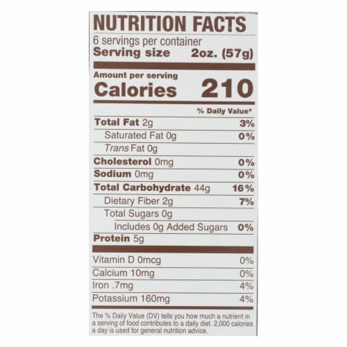 Jovial - Gluten Free Brown Rice Pasta - Farfalle - Case of 12 - 12 oz. Perspective: back