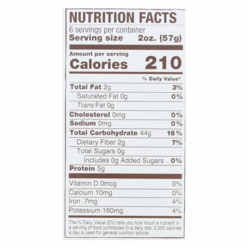 Jovial - Organic Brown Rice Pasta - Shells - Case of 12 - 12 oz. Perspective: back