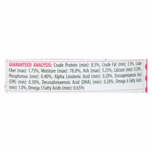 Tender & True - Dog Food Salmon&swt Pot - Case of 12 - 13.2 OZ Perspective: back