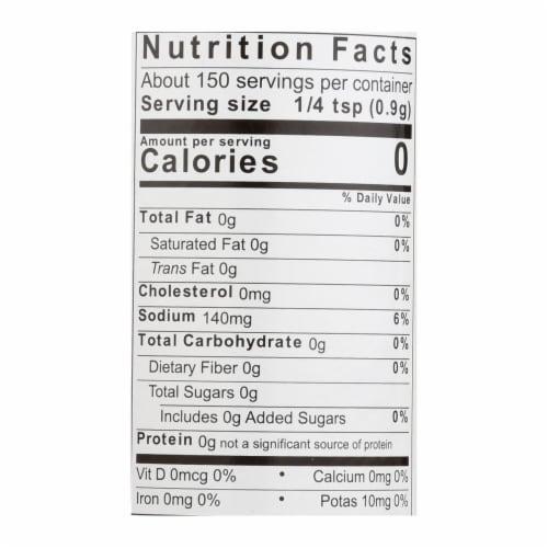 Jane'S Krazy Seasonings Mixed-Up Chunky Garlic Seasoning  - Case of 12 - 4.75 OZ Perspective: back