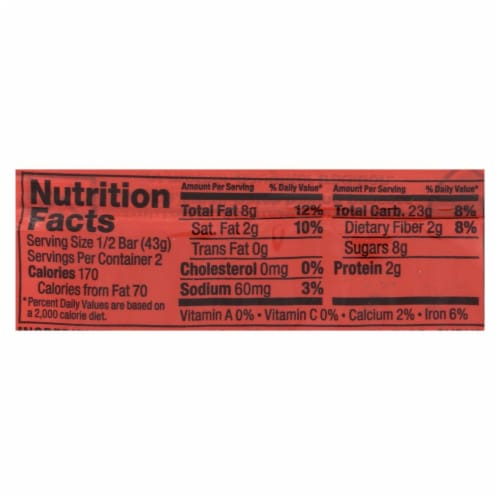 Bobo's Oat Bars - All Natural - Gluten Free - Maple Pecan - 3 oz Bars - Case of 12 Perspective: back