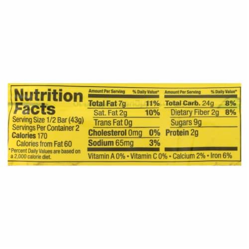 Bobo's Oat Bars - All Natural - Gluten Free - Lemon Poppyseed - 3 oz Bars - Case of 12 Perspective: back