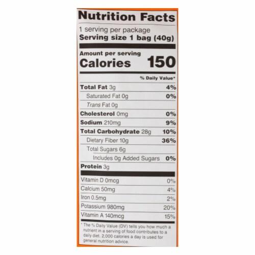 Rhythm Superfoods Llc Organic Carrot Sticks - Case of 12 - 1.4 OZ Perspective: back