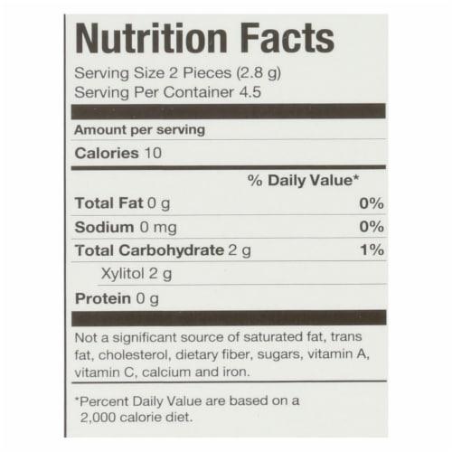 Pur Gum - Coolmint - Aspartame Free - 9 Pieces - 12.6 g - Case of 12 Perspective: back