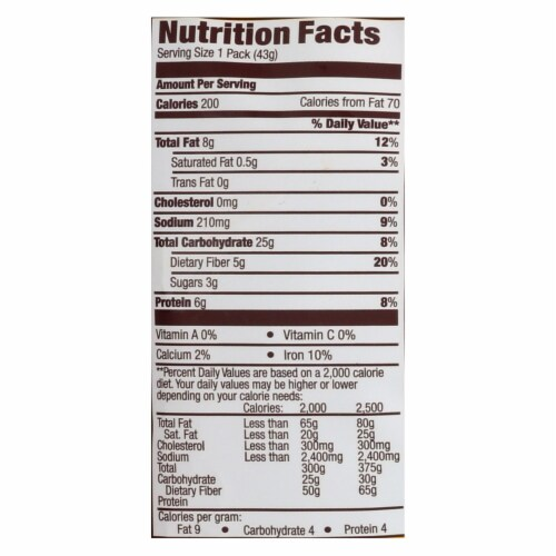 Hippeas Organic White Cheddar Chickpea Puffs - Case of 12 - 1.5 OZ Perspective: back