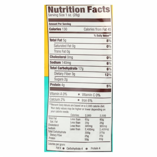 Hippeas - Chkpea Puff Vgn Wh Ch - Case of 12 - 6 OZ Perspective: back