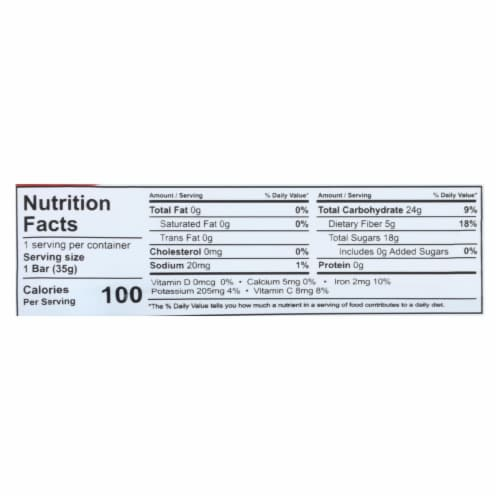 That's It Fruit Bar - Apple and Pinapple - Case of 12 - 1.2 oz Perspective: back