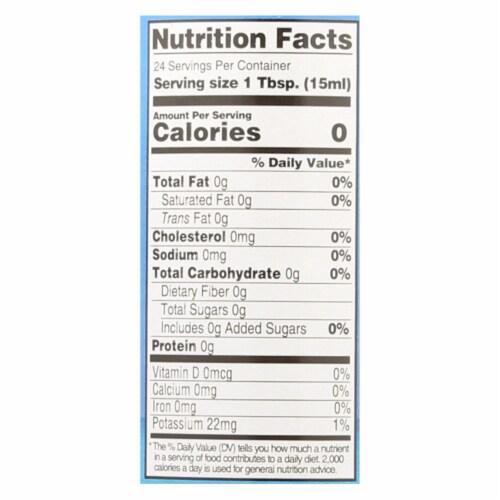 Coconut Secret - Raw Coconut - Vinegar - Case of 12 - 12 Fl oz. Perspective: back