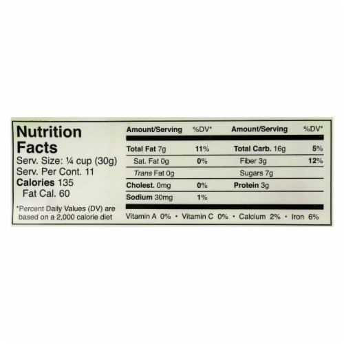 Jessica's Gluten-Free Almond Cherry Granola  - Case of 12 - 11 OZ Perspective: back